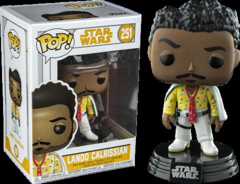 Фигурка Funko Pop! Star Wars: Solo - Lando Calrissian (Excl. to Hot Topic)