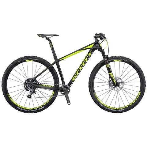 Scott Scale 900 RC (2016)черный с зеленым