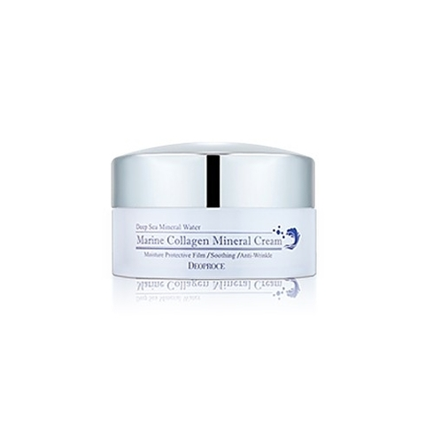 DEOPROCE CREAM Крем для лица морской коллаген DEOPROCE MARINE COLLAGEN MINERAL CREAM  100гр