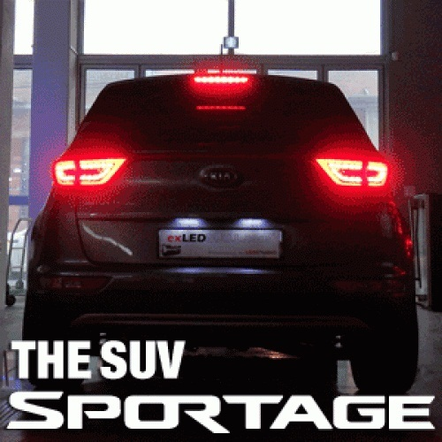 LED-модули задних фонарей 1533L2 Power LED - KIA The SUV Sportage (EXLED) для KIA Sportage IV 2016 - exled electric cars motorcycle led headlights modification lens strong light