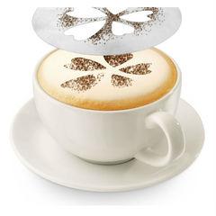 Трафареты для украшения кофе и выпечки