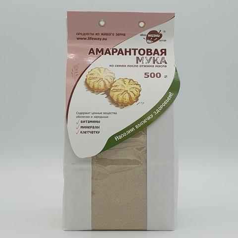 Амарантовая мука цельносмолотая ОБРАЗ ЖИЗНИ, 500 гр