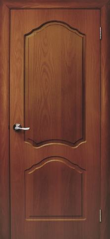 Дверь Дубрава Сибирь Илона, цвет итальянский орех, глухая
