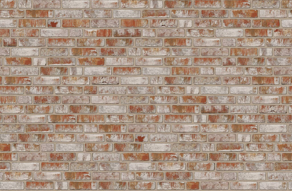 Roben - Geestbrand, bunt weiss, NF14, 240x14x71 - Клинкерная плитка для фасада и внутренней отделки