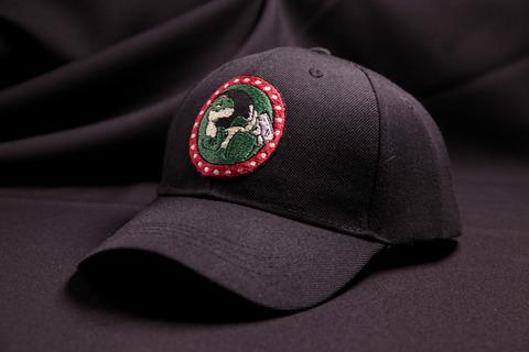 Кепка черная Оптизавр Лого