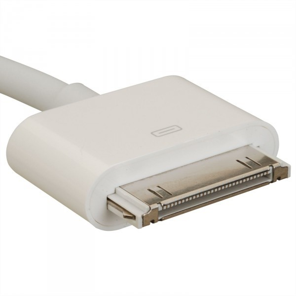Кабель USB - 30 pin для зарядки Apple iPhone 3, 4, 4S, iPad, iPod Nano