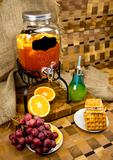 Диспенсер для напитков на подставке «Yorkshire», 4 литра  с меловой вставкой
