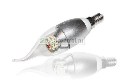 E14 CR-DP-Flame 6W 220V