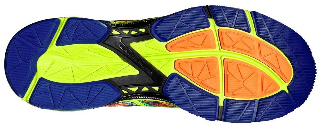 Мужские беговые кроссовки Asics Gel-Noosa Tri 11 (T626N 3007) желтые фото