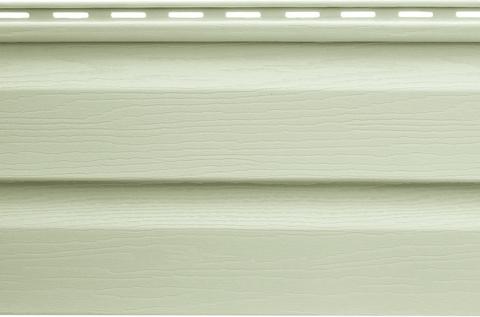 Виниловый сайдинг Альта Профиль серо-зеленый 3000х230 мм