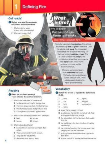 Firefighters (esp). Students Book. Учебник