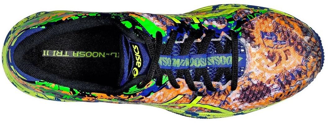 Мужские беговые кроссовки Asics Gel-Noosa Tri 11 (T626N 3007) желтые фото сверху