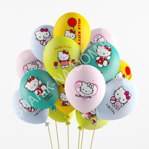 """Детям Воздушные шары """"Hello Kitty"""" Китти.jpg"""