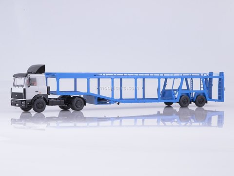 MAZ-5432 semi-trailer auto-transporter 934410 (А908) 1:43 Start Scale Models (SSM)