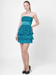 M042-1 платье, бирюзовое