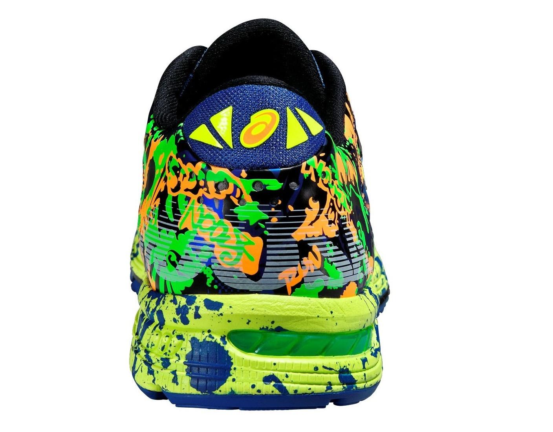 Мужские беговые кроссовки Asics Gel-Noosa Tri 11 (T626N 3007) желтые фото пятка