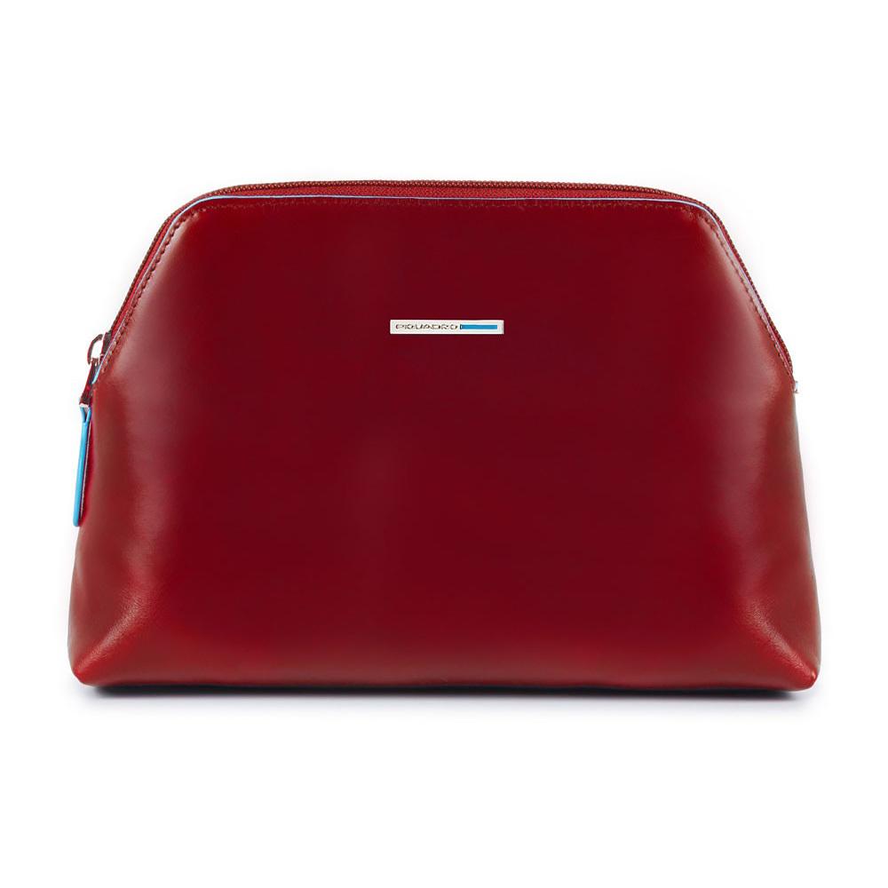 Косметичка Piquadro, цвет красный, 21,5x14,5x5,5 см (BY3795B2/R)