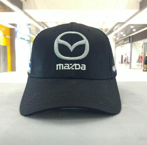 Кепка Мазда черная (Бейсболка MAZDA)