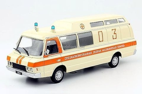 ZIL-118KA ambulance 1:43 DeAgostini Auto Legends USSR #245
