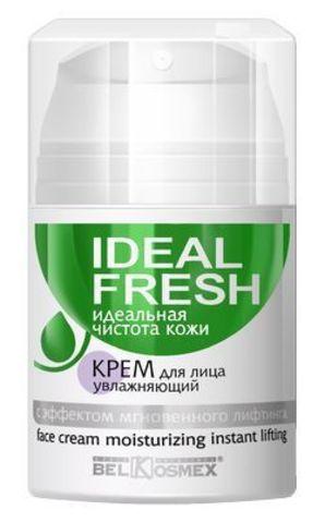 BelKosmex Ideal fresh Крем для лица увлажняющий с эффектом мгновенного лифтинга 50г