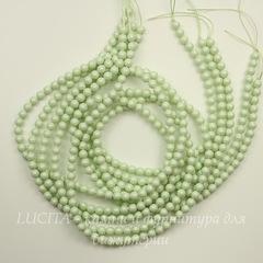 5810 Хрустальный жемчуг Сваровски Crystal Pastel Green круглый 6 мм, 5 штук