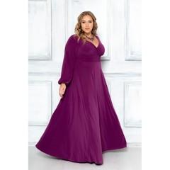Платье Ромелла слива