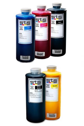 Комплект пигментных чернил STS для Canon TX-3000/4000 5*1000 мл