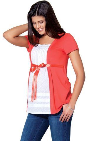 Блузка 01390 красный
