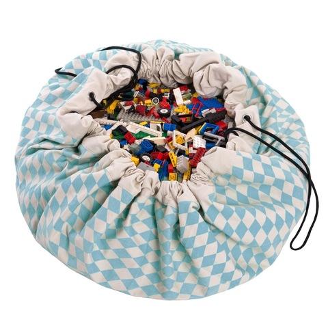 Мешок для игрушек Play&Go Print СИНИЙ БРИЛЛИАНТ 79960