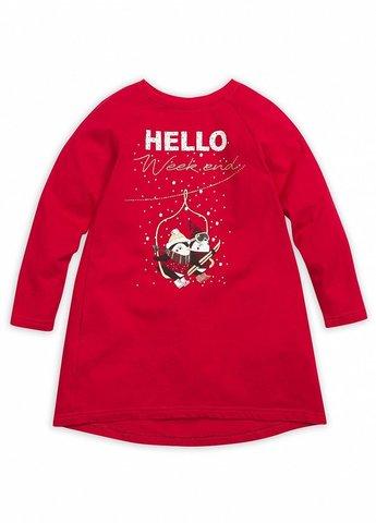 Pelican GFDJ3091 Платье для девочек новогоднее красное
