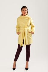 Пальто-накидка без подклада
