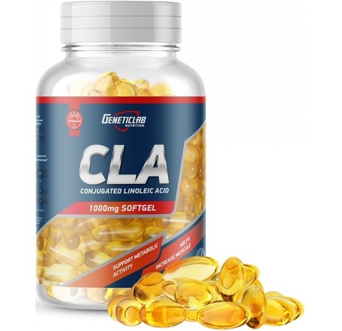 CLA (GeneticLab, 60 softgels, CLA)