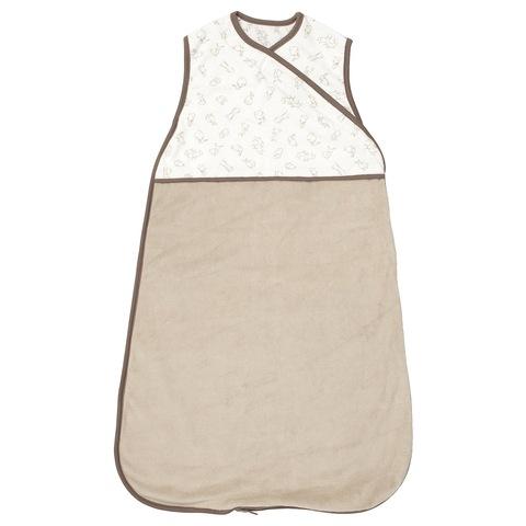 РЁДХАКЕ Спальный мешок, бежевый, орнамент «кролики», 0-6