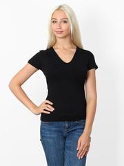 009074 футболка женская, черная