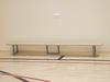 Скамейка гимнастическая на металлических ножках 3.0м (массив дерева).