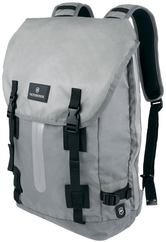 Рюкзак Victorinox Altmont™ 3.0, Flapover Laptop Backpack, серый, нейлон Versatek™, 32x13x48 , 19 л