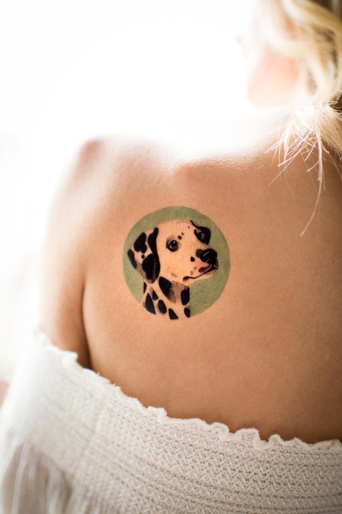 Переводная татуировка Dalmation