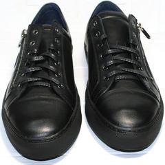 Кеды кроссовки мужские Ікос 1528-1 Black