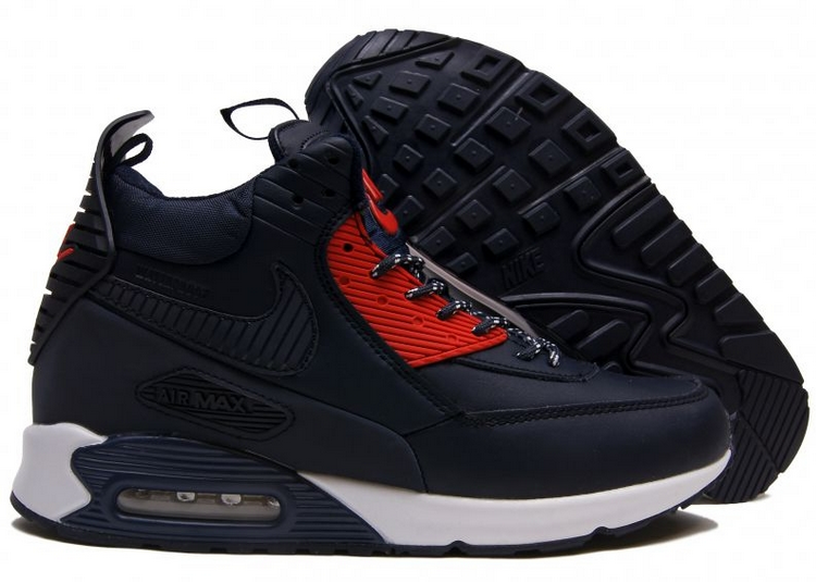 126caa05 Nike-Air-Max-90-Sneakerboot-with-Fur-Dark-Blue-Krossovki-Najk-Аir-Maks-90 -Snikerbut-s-Mekhom-Temno-Sinie