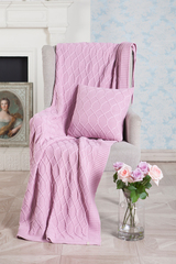 Наволочка декоративная 40х40 Luxberry Lux 34 французский розовый