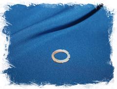 Кольцо из ракушки для бижутерии