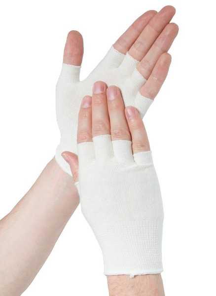 Одноразовые перчатки Подперчатки бамбуковые HANDYboo EASY WHITE (белый) EASY_white.jpg