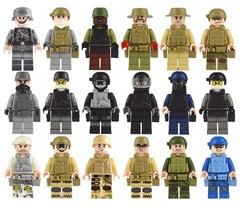 Минифигурки Военных серия 291