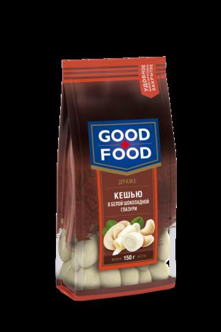 GOOD FOOD Кешью в белой глазури 150г