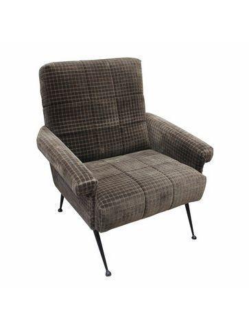 Кресло Roomers Колун серое