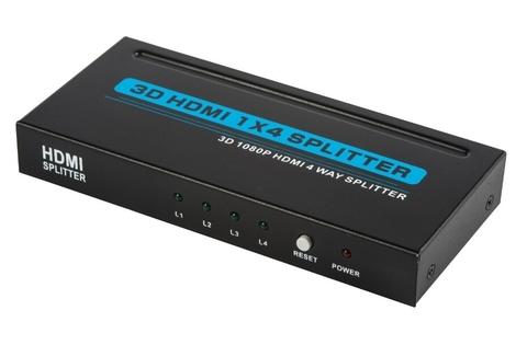 HDMI Splitter 1*4 Сплиттер 1x4 1080P 3D (из 1-HDMI в 4-HDMI)