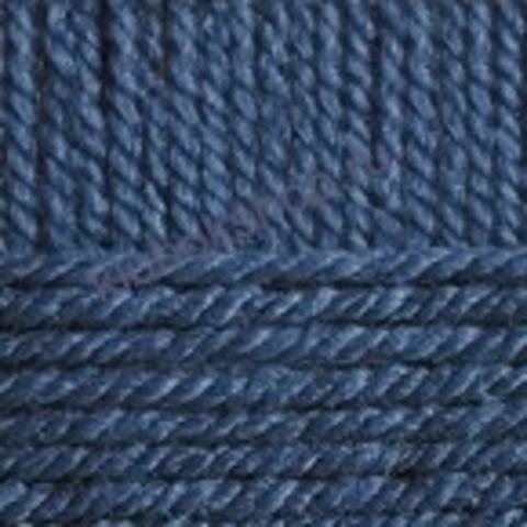Пряжа Осенняя (Пехорка) цвет 156 индиго
