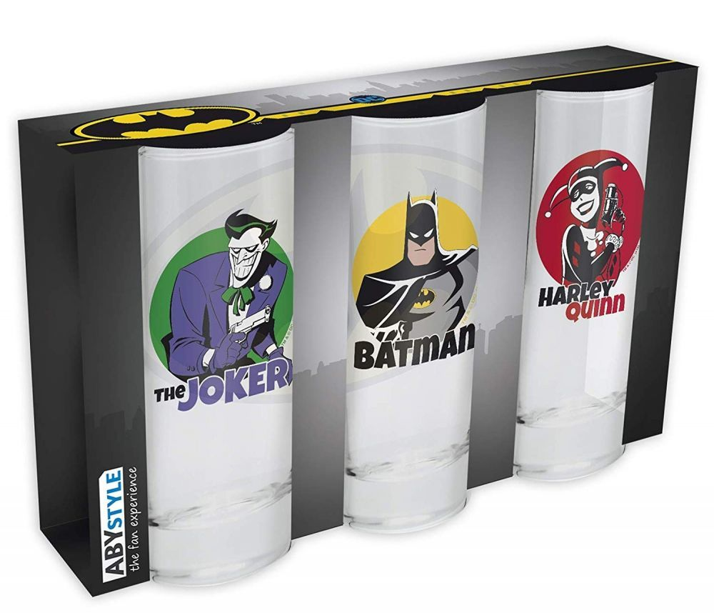 Бокал ABYstyle: DC COMICS: набор 3шт.  ABYVER104