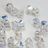 5328 Бусина - биконус Сваровски Crystal AB 6 мм, 5 штук (8 мм)
