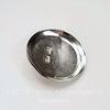 Основа для броши с круглой площадкой 35 мм (цвет - никель)